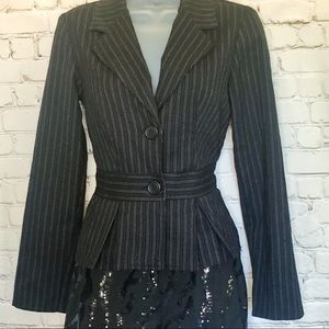Forever 21 juniors blazer charcoal small